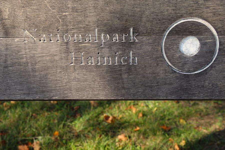 Eingang zum Nationalpark Hainich am Craulaer Kreuz