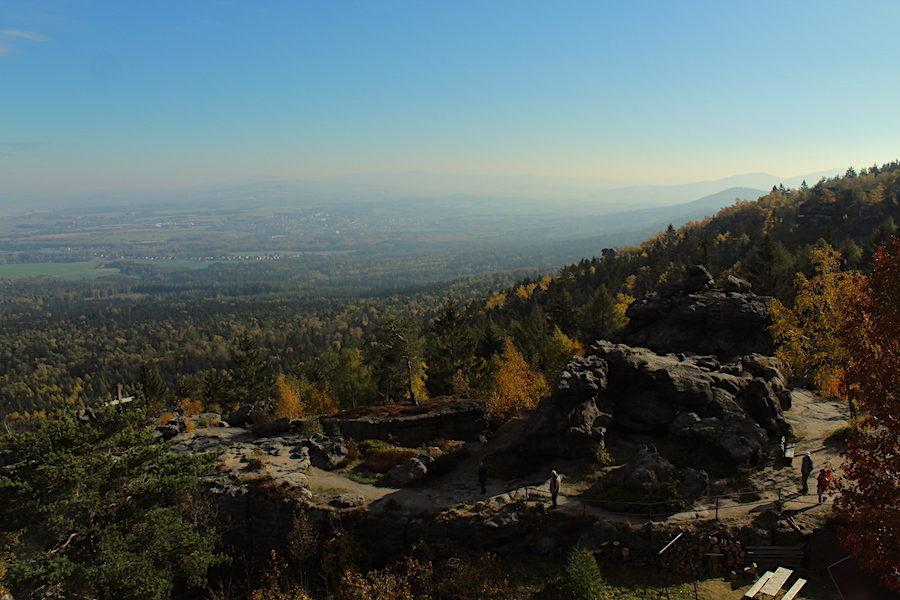 Blick nach Osten von der Töpferbaude