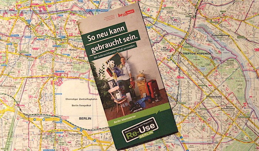 Re-Use Berlin - Wiederverwendung alter, funktionsfähiger Gegenstände