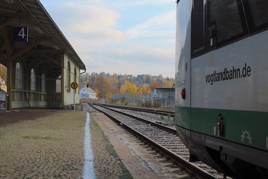 Bahnhof Adorf, das Tor zum oberen Vogtland und Elstergebirge