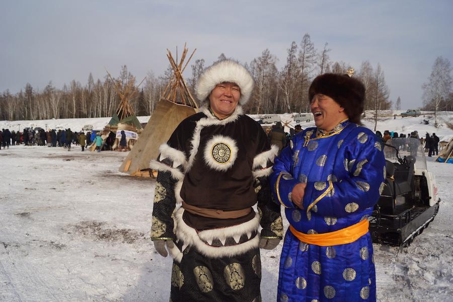 Reindeer-herders festival Todzha in Tuva