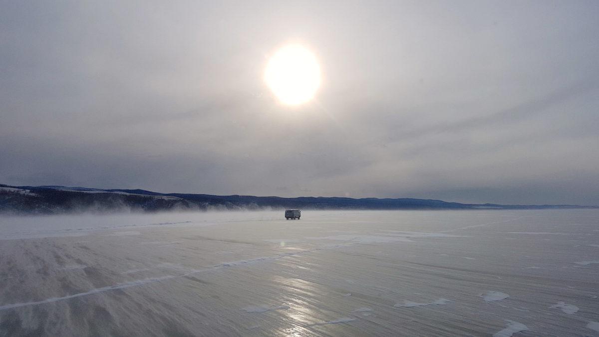 der Baikalsees im Winter