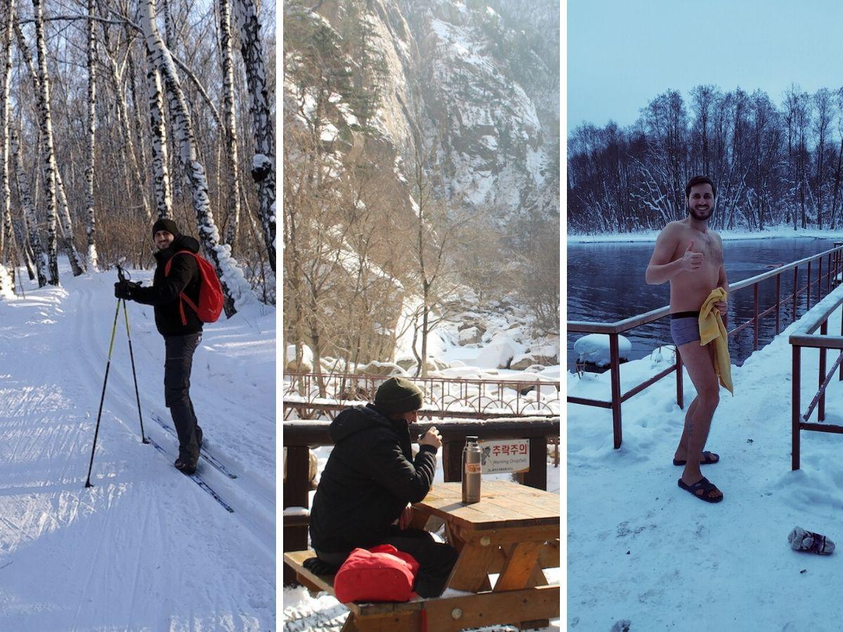 Sportarten auf einer langen Winterreise, sollte man für seine Reisepackliste mitdenken