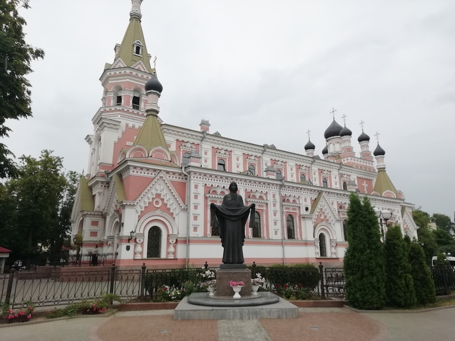 Russisch-Orthodoxe Kathedrale in Hrodna