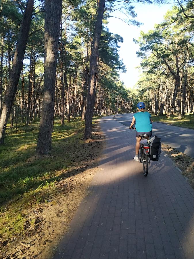 Fahrradweg zum Slowinzischen Nationalpark