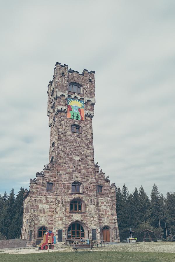 Altvaterturm aus dem Altvatergebirge (Sudeten), originalgetreu nachgebaut