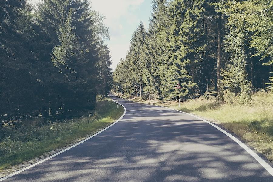 Die letzten Kilometer bis nach Eisenach