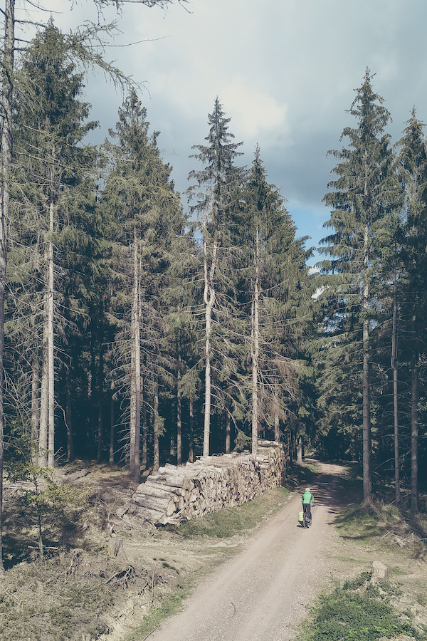 Fahrradtour durch den Thüringer Wald