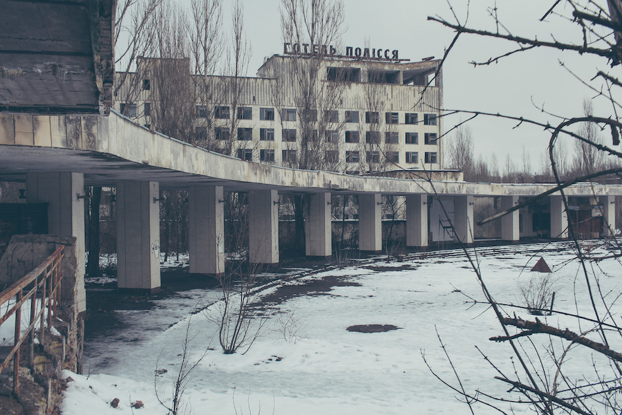 Hotel Polizei in Tschernobyl