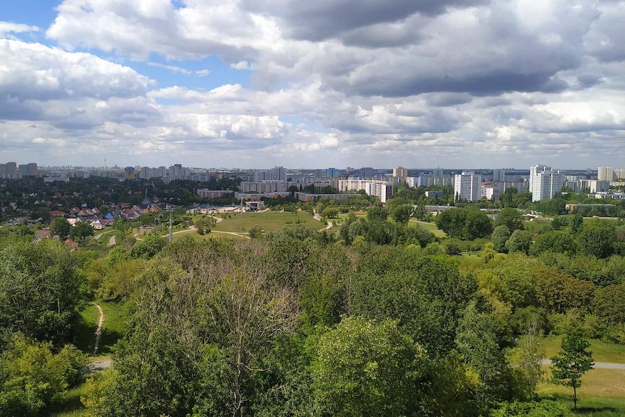 Blick auf Berlin vom Wolkenhain