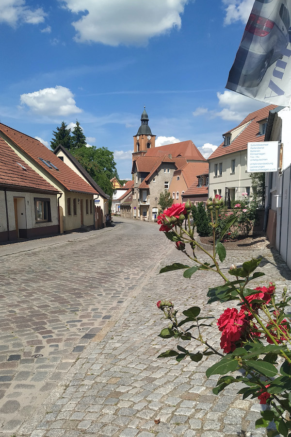 Buckows schmucke Altstadt