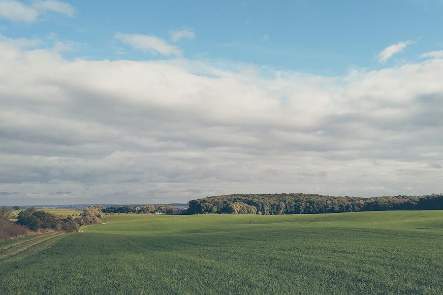 Eiszeitliche Landschaft in der Schorfheide