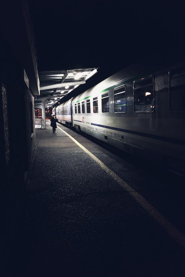 Nachts, irgendwo in Polen
