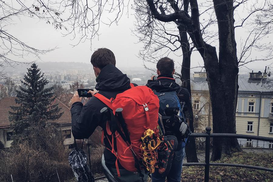 Auf dem Schlossberg von Przemyśl