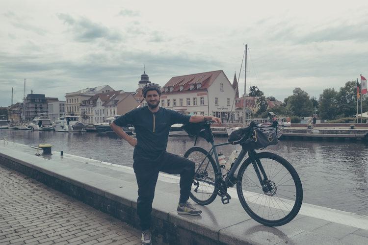 Ankunft am Hafen von Ueckermünde