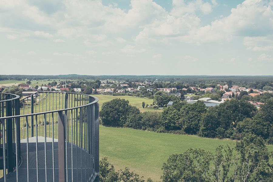 Blick auf Joachimsthal zwischen Werbellinsee und Grimnitzsee