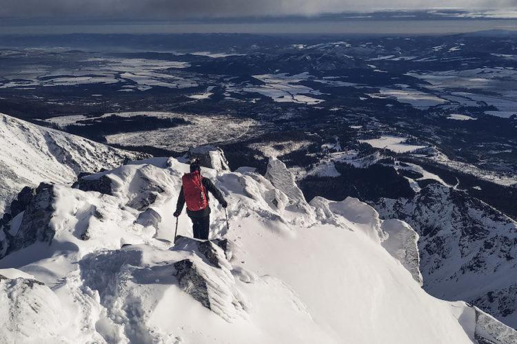 Bergsteigen in der Hohen Tatra