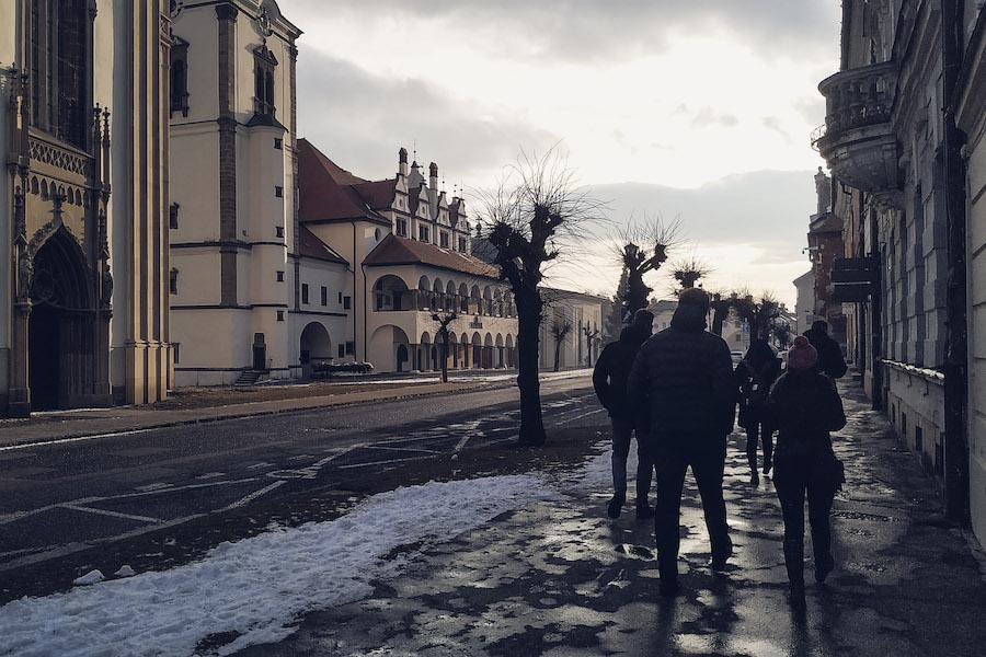 Spaziergang durch Leutschau (Levoča)