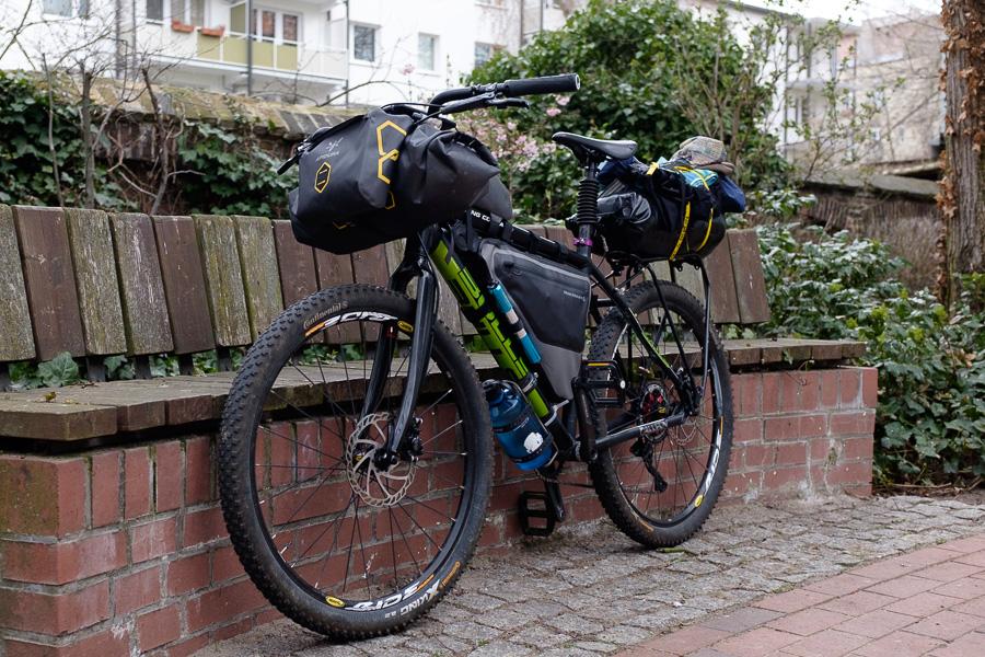Rigid Mountainbike im Bikepacking-Setup