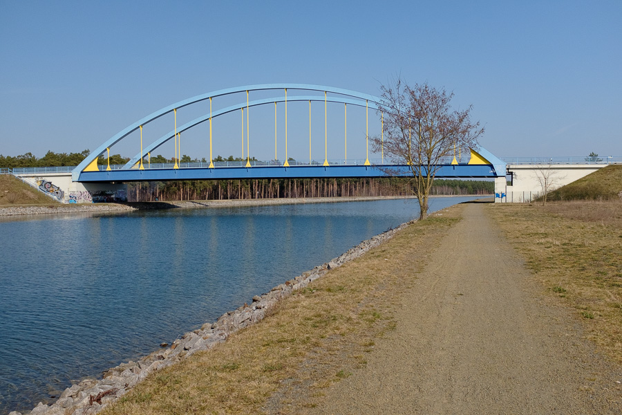 Brücke über den Oder-Havel-Kanal in Eberswalde