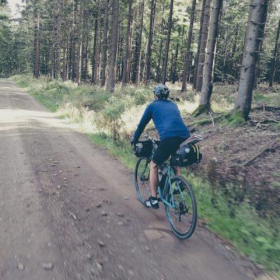 Bikepacking auf dem Rennsteig-Radwanderweg