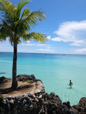 pristine beaches on the island of Boracay, Philippines