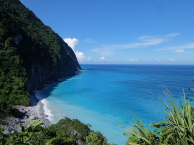 pristine waters at the east coast of Taiwan