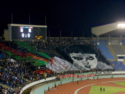 home fans of FAR Rabat, Prince Moulay Abdellah Stadium, Rabat