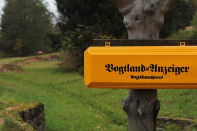 Ein Briefkasten im oberen Vogtland