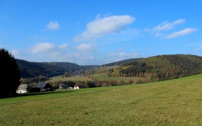 Kulturlandschaft im oberen Vogtland