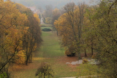 Schlosspark Buckow im November