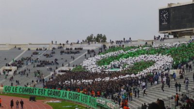 fans of Raja Casablanca on their tribune